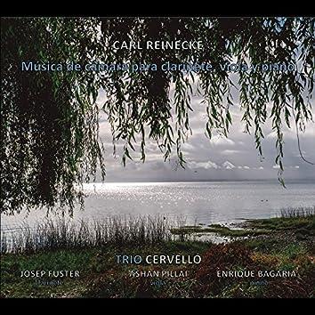Carl Reinecke. Música de Cámara para Clarinete, Viola y Piano