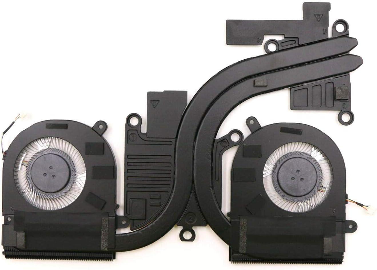 HK-Part Fan for Lenovo Ideapad Yoga 720-15IKB Discrete Fan and Heatsink 5H40N67861