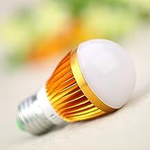 Roloiki 3W E27 LED Bubble Ball Globe Lamp Bulb Energy Saving Light High Brightness 220V