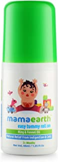 Mamaearth Easy Tummy Roll On with Fennel for Digestion and Body Relief for Kids and Babies, Made in The Himalayas- Hypoallergenic, Toxin-Free, All Natural with Organic Ingredients
