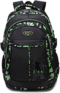 Boy's School Backpack Bookbag For Primary & Middle School