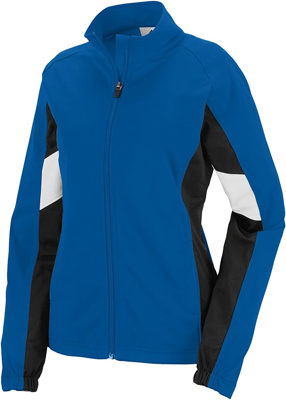 7724 Ladies Tour De Force Jacket ROYAL BLACK WHITE S