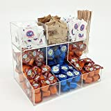OnDisplay Acrylic Sugar/Creamer Station with Removable Top Tier