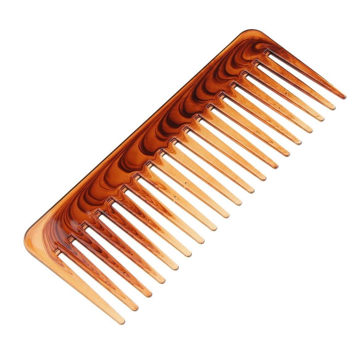 折るかんたんインディカ絡み合った髪の櫛ヘアコンディショニングレーキの櫛幅のあるヘアブラシのツール