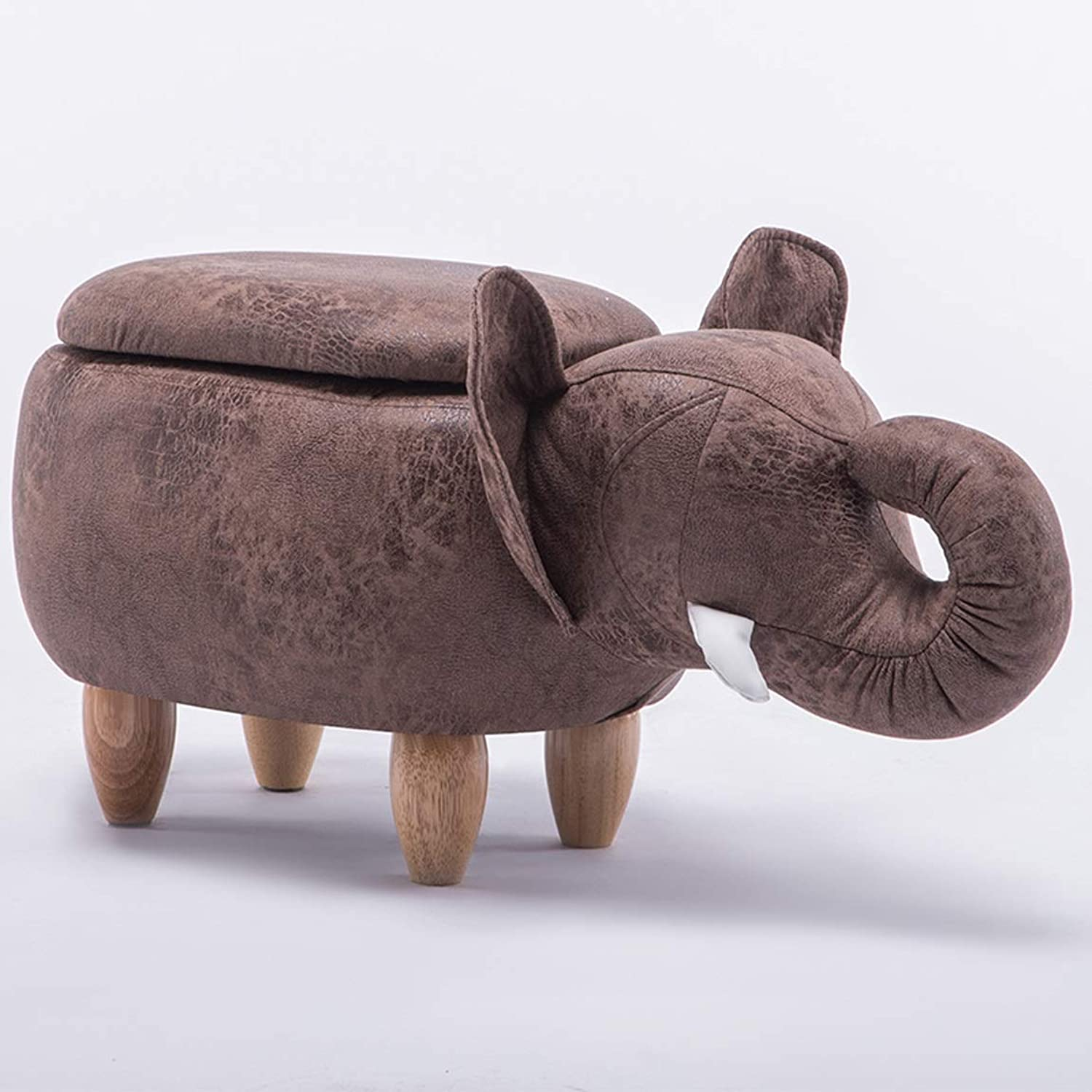 LRW Elephant Change shoes Stand Creative Sofa Storage Stand Low Stand Cartoon Test shoes Stand 2