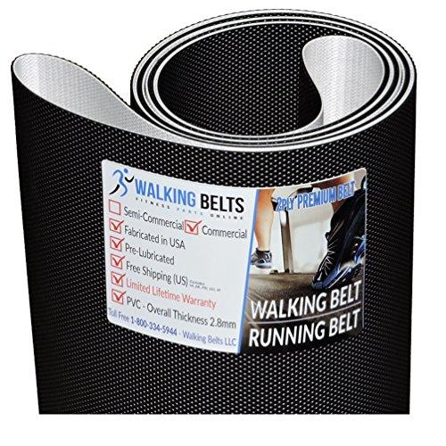 WALKINGBELTS Walking Belts LLC - Sole F80 (2014) Treadmill Walking Belt 2ply Premium + Free 1oz Lube
