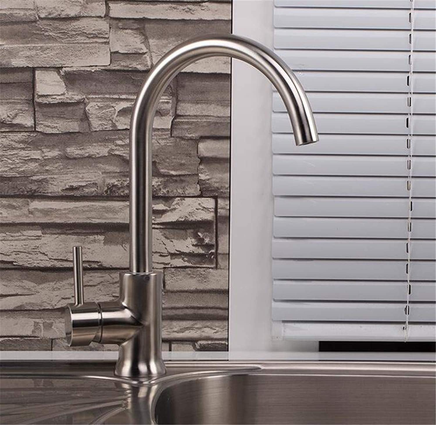 Decorry Stainless Steel Kitchen Kitchen Sink Faucet Hot and Cold Taps 304