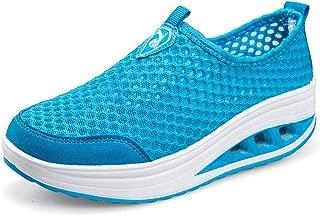 Unparalleled beauty Womens Slip on Sneaker Comfortable Walking Shoe Soft Rocking Shoes Sneakers
