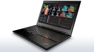 Lenovo ThinkPad P50 Workstation Laptop - Windows 10 Pro - Intel Xeon E3-1505M, 32GB RAM, 512GB SSD + 1TB HDD, 15.6