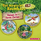 Reisen in ferne Zeiten. Die Hörbuchbox (Das magische Baumhaus ): Angriff des Wolkendrachen / Der geheime Flug des Leonardo / Die geheime Macht der Zauberflöte: 3 CDs