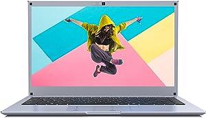 Winnovo 14 Inch Laptop Computer, Intel Celeron Processor, 6GB DDR3 RAM, 64GB eMMC, 14'' HD IPS Display, Windows 10, Numeric Touchpad, 5G WiFi, HDMI, Lightweight, for Business and Student