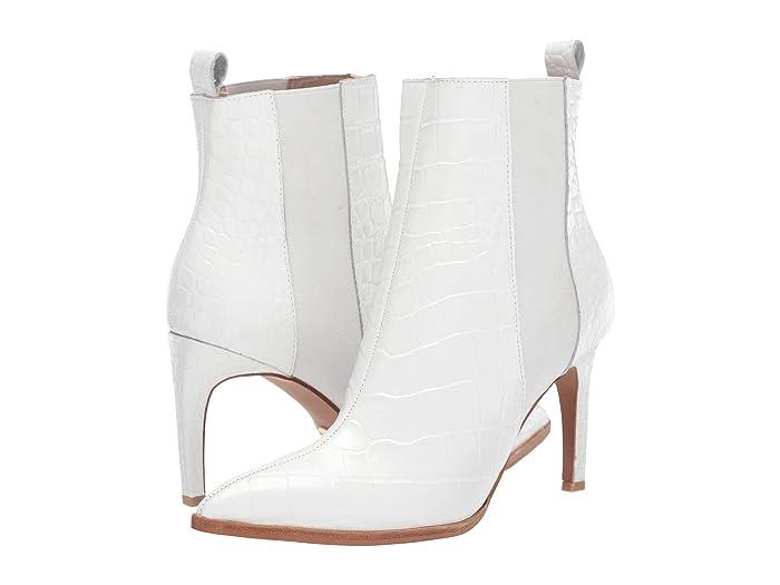42 GOLD  Kensington (White Croco) Womens  Boots