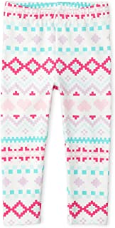 The Children's Place Girls' Baby Fashion Printed Leggings