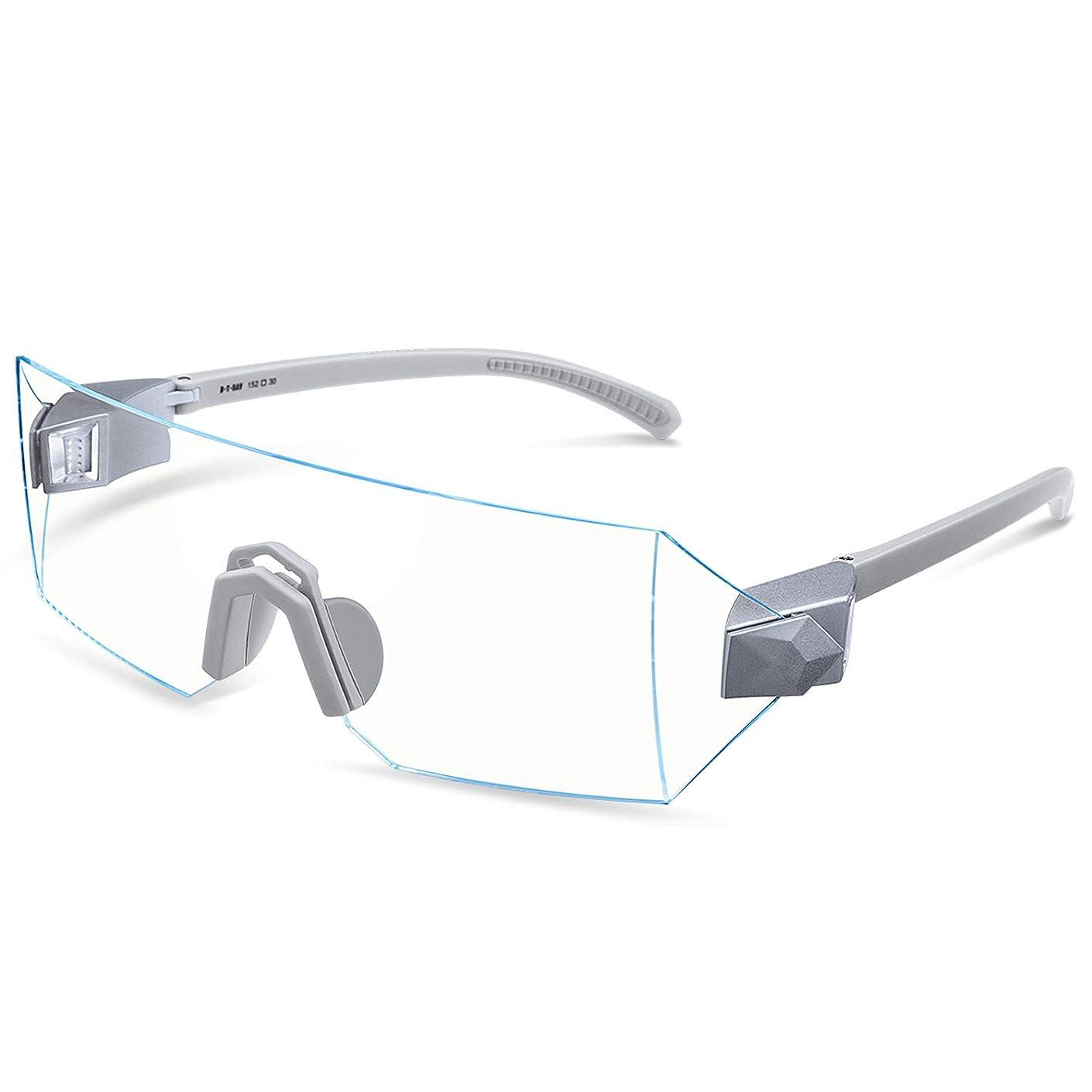 Blue Light Blocking Glasses for Computer, Gaming, Reading and Reduce Eyestrain and Headache,Better Sleep Eyewear, Clear Lens, Men/Women