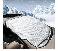Parasole per parabrezza auto Copertura alluminio Neve Ghiaccio Gelo Sole Polvere
