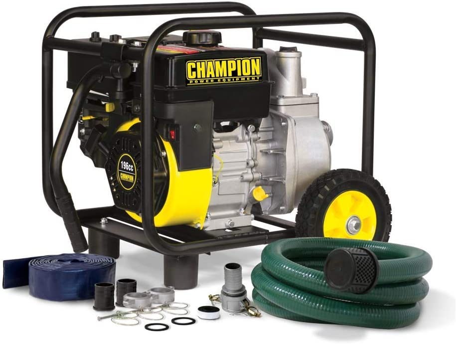 Champion Gas-Powered Water Transfer Pump