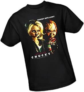 Universal Studios Chucky Gets Lucky - Bride of Chucky Adult T-Shirt