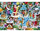 250pc Wentworth Wooden Puzzles - Christmas Snow Globes