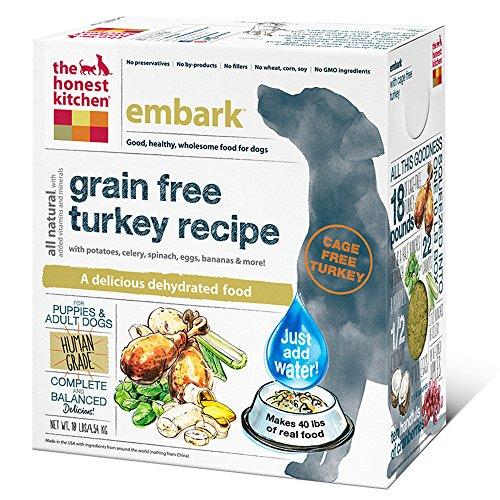 The Honest Kitchen Embark: Grain Free Turkey Dog Food 10 Pound