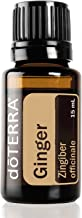 doTERRA - Ginger Essential Oil - May Help to Support Healthy Digestion, May Help to Reduce Bloating, Gas, Occasional Indigestion, and Occasional Nausea; For Diffusion, Internal, or Topical Use - 15 mL
