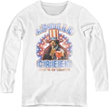 Rocky Apollo Creed Adult Long Sleeve T-Shirt for Women