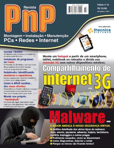 PnP Digital nº 22 - Compartilhamento de internet 3G (Portuguese Edition)