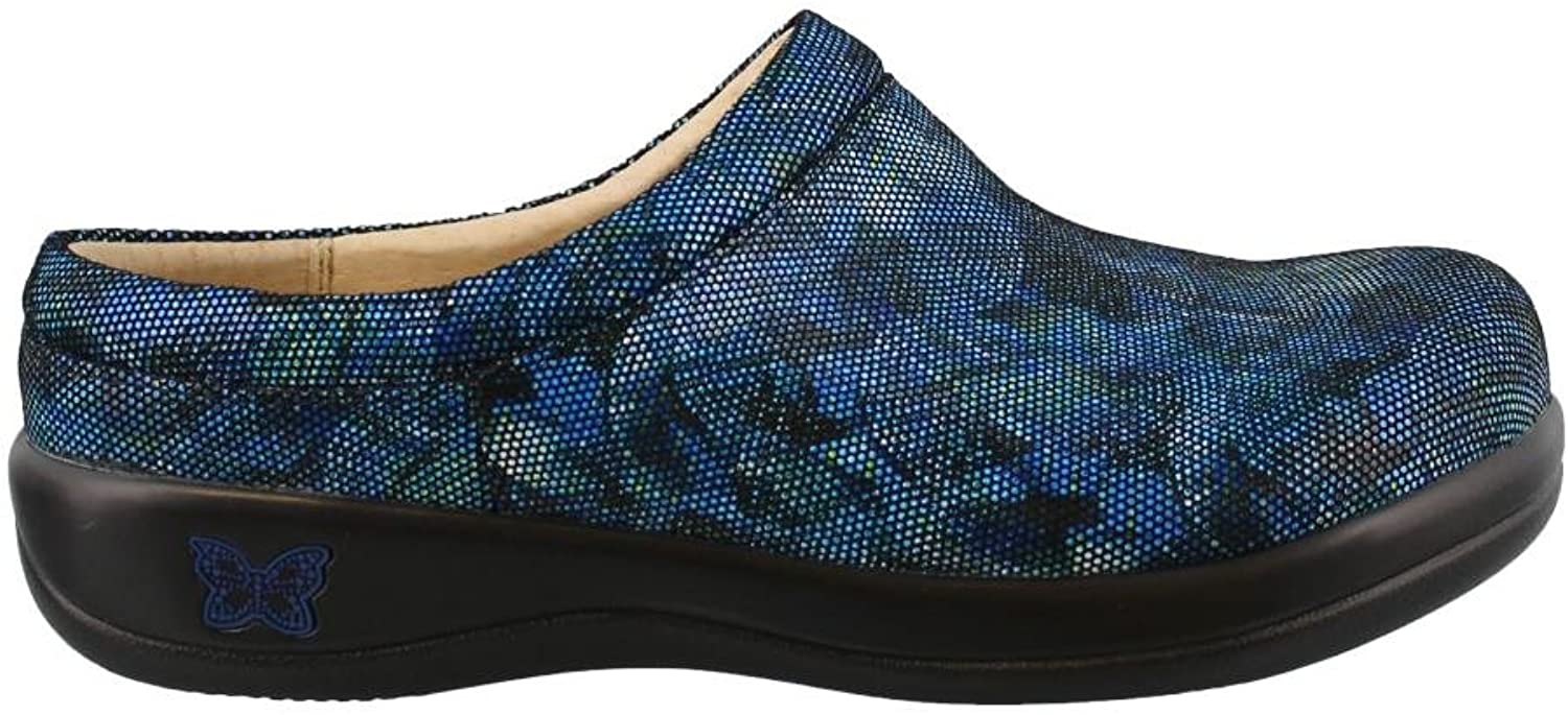 Women's Alegria, Kayla comfort Clog Work shoes blueE 3.8 M