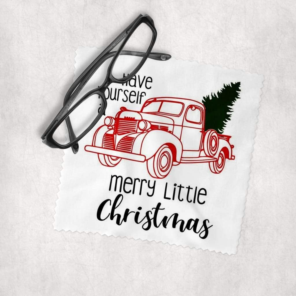 Merry Little shopping Christmas - Microfiber Lens Product Cleanin Cloth Cleaning