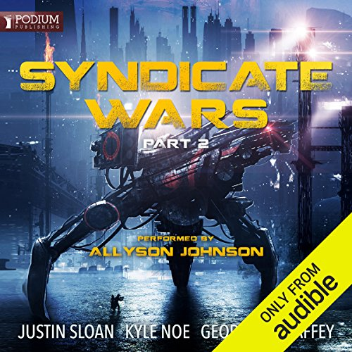 Syndicate Wars, Part II audiobook cover art