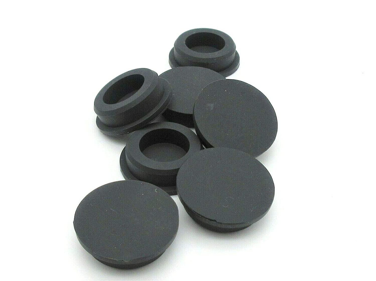 Genuine Free Shipping outlet 1 8'' Rubber Firewall Hole Plugs. Compression Id Stem. Push-in
