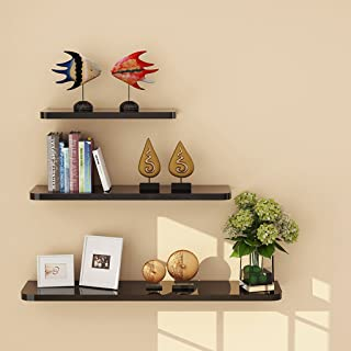 LBYMYB Shelves 3PCS 1 Set Wall Floating Board Shelf Storage Shelves Bookshelf Shop Display White Shelf