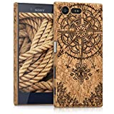 kwmobile Sony Xperia X Compact Case - Protective Cork Cover