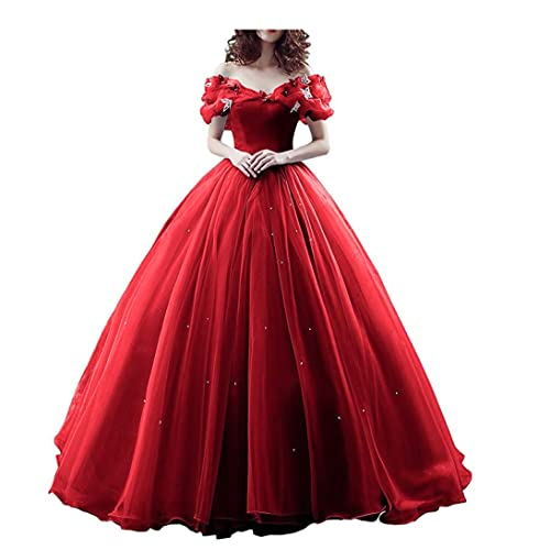 Red Quinceanera Dress: Amazon.com