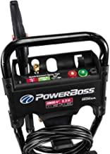 PowerBoss 2800 MAX PSI at 2.1 GPM Gas Pressure Washer with Detergent Injection, 25-Foot High-Pressure Hose, and 3 Quick-Co...