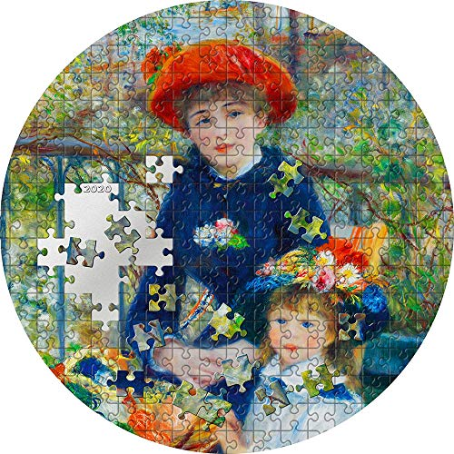 Power Coin Two Sisters On The Terrace Renoir Micropuzzle Treasures 3 Oz Moneda Plata 20$ Palau 2020