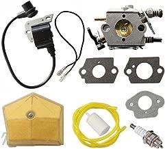 HURI Carburetor Ignition Coil for Husqvarna 51 55 Chainsaw WT-170-1 WT-170 503281504