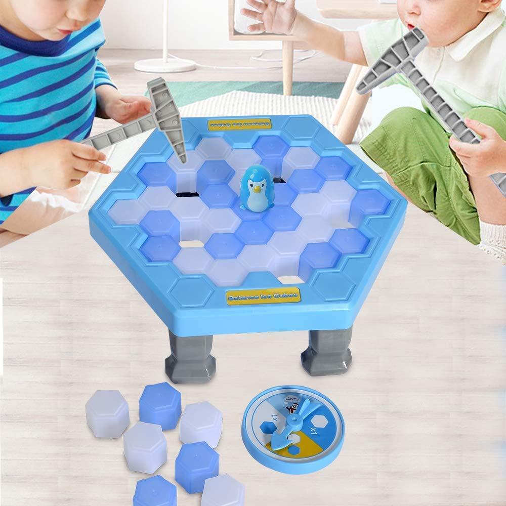 Mini Penguin Trap Board Game Ice Breaking Save The Penguin Party G Ew