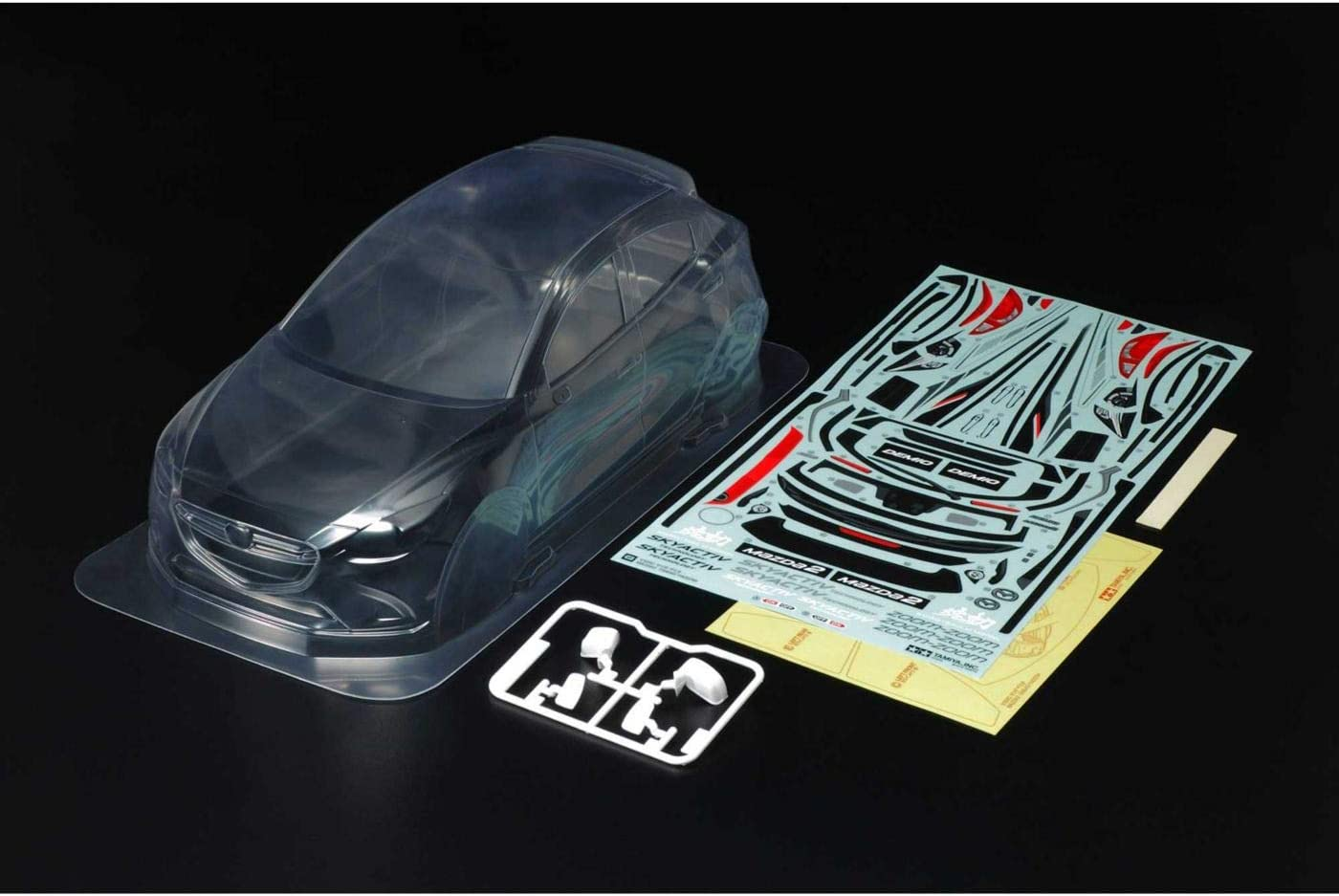 Tamiya America Inc Mazda2 Japan Maker New Lightweight Parts Set Body Max 89% OFF TAM47369