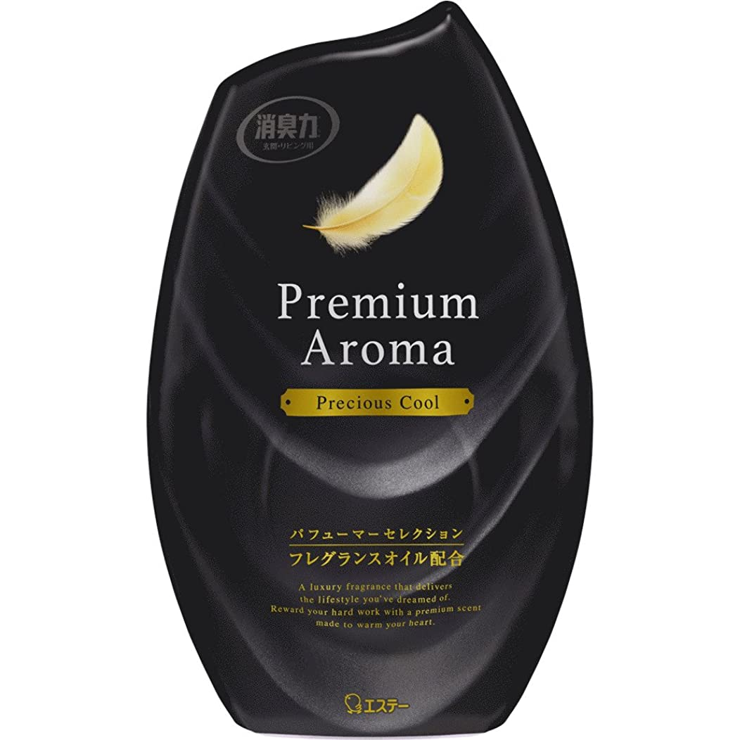 解説肉定刻お部屋の消臭力 プレミアムアロマ Premium Aroma 消臭芳香剤 部屋用 部屋 プレシャスクールの香り 400ml