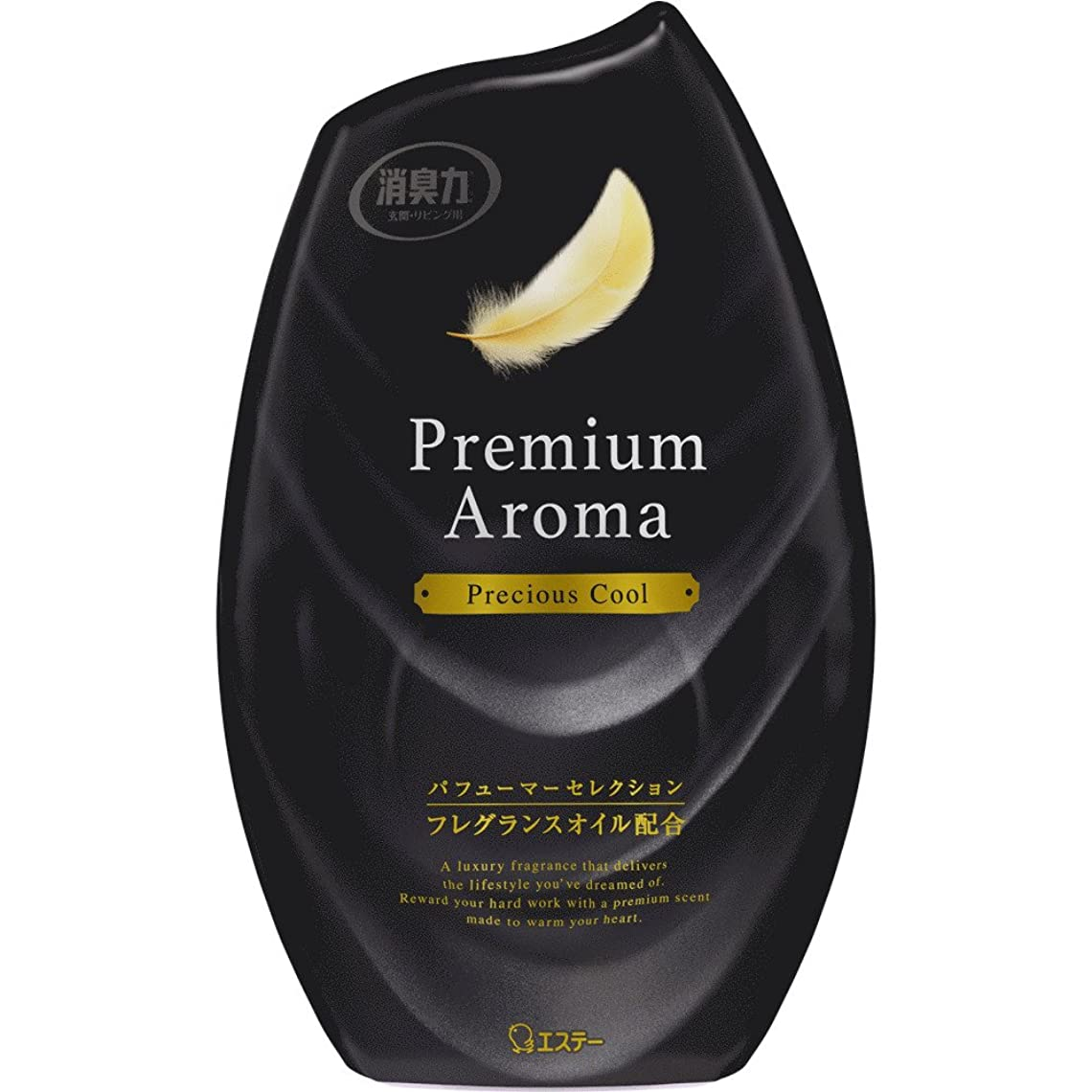 ケーブルカー気づかないアシスタントお部屋の消臭力 プレミアムアロマ Premium Aroma 消臭芳香剤 部屋用 部屋 プレシャスクールの香り 400ml