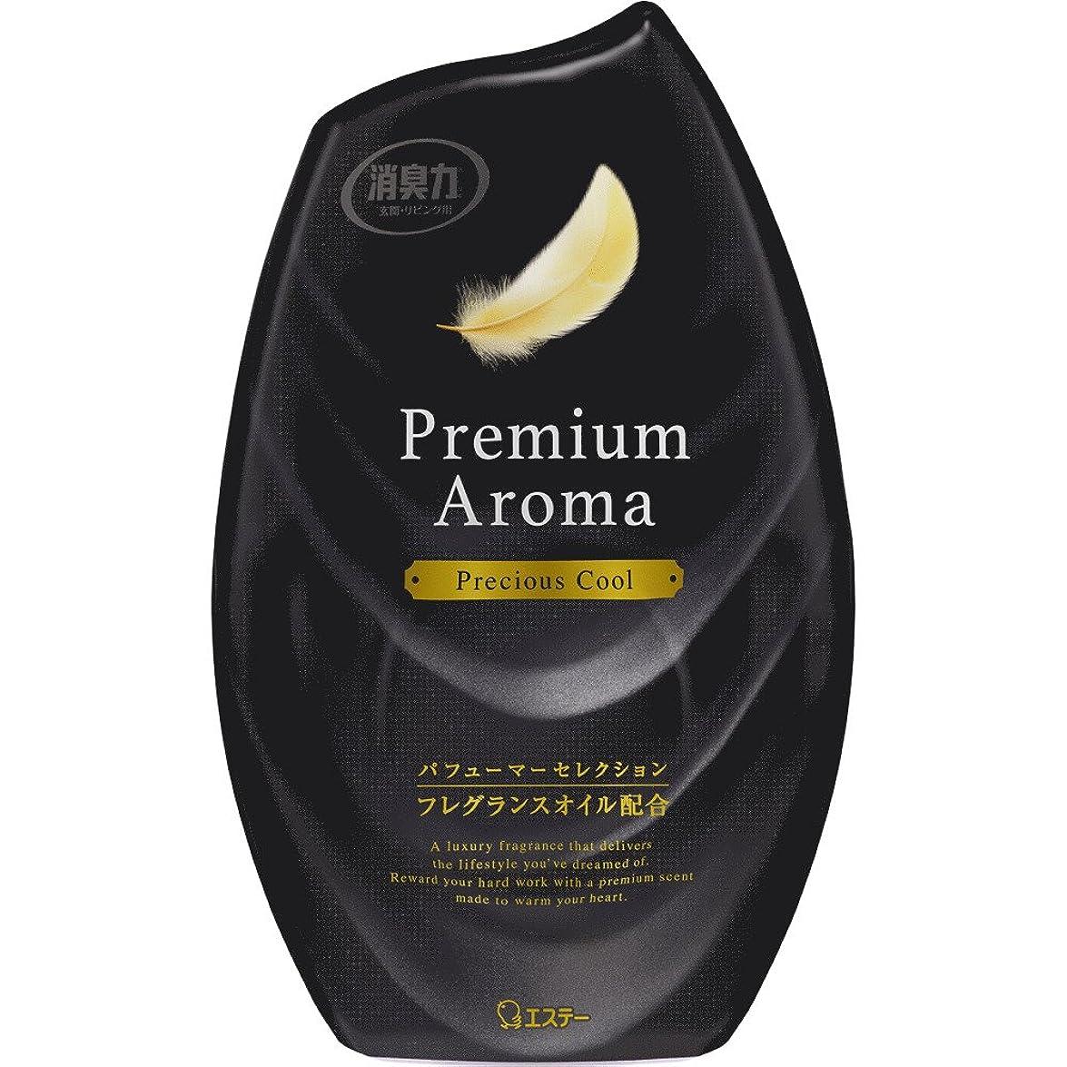 襲撃冒険者原稿お部屋の消臭力 プレミアムアロマ Premium Aroma 消臭芳香剤 部屋用 部屋 プレシャスクールの香り 400ml