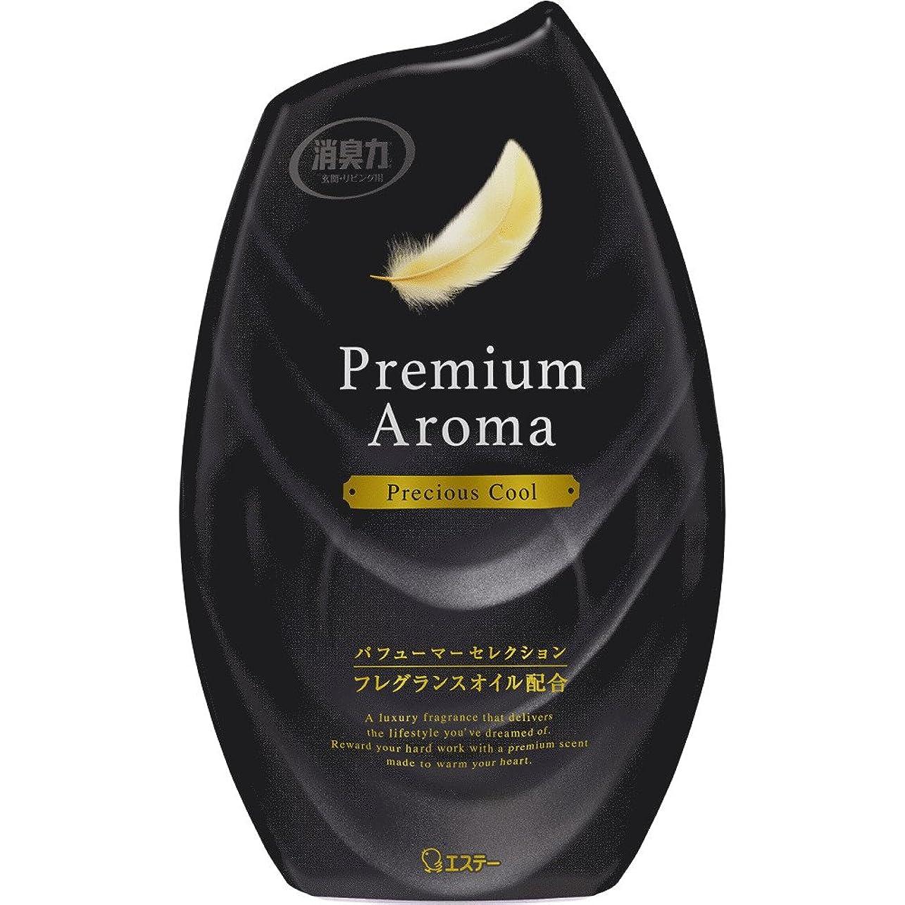 拡声器受け皿薄汚いお部屋の消臭力 プレミアムアロマ Premium Aroma 消臭芳香剤 部屋用 部屋 プレシャスクールの香り 400ml