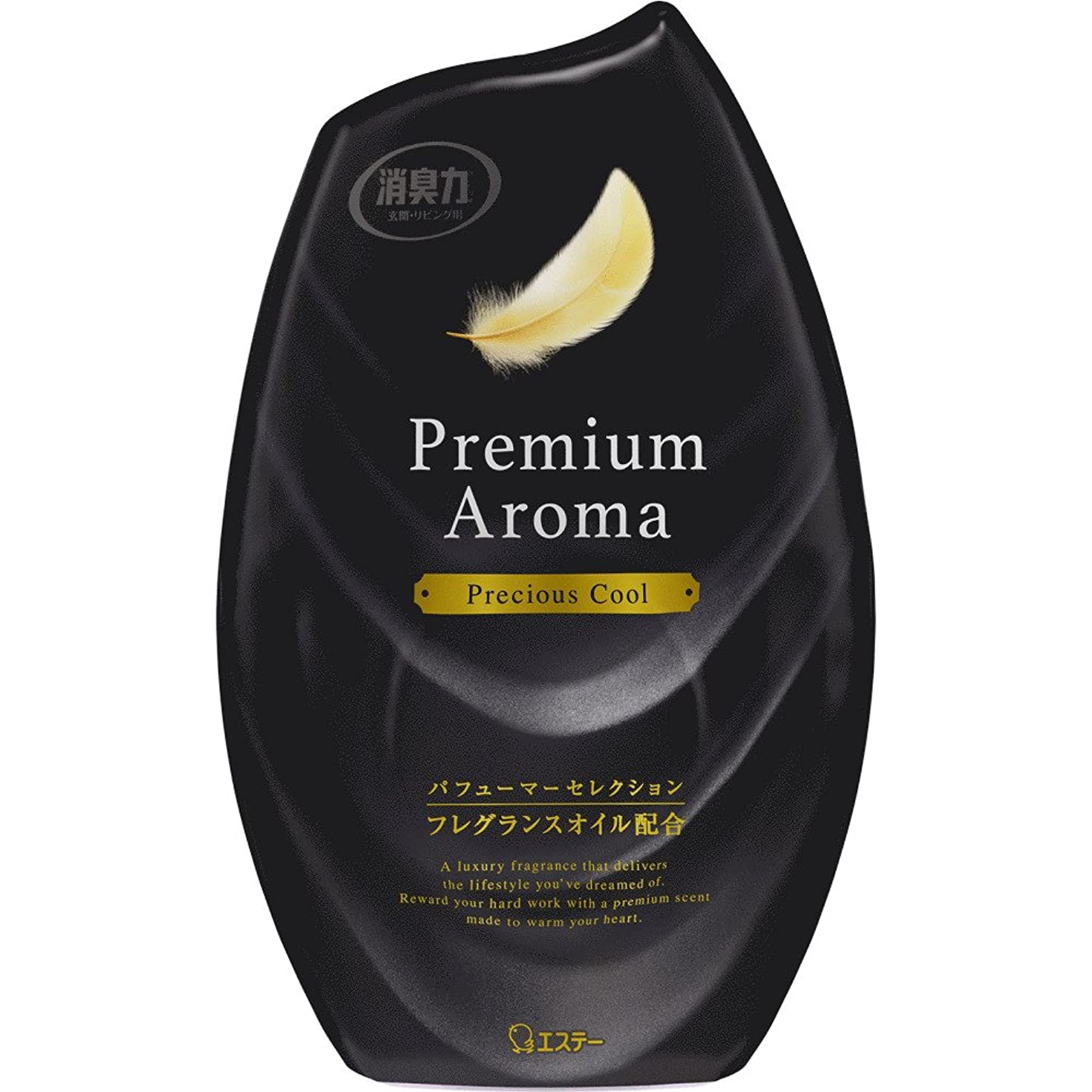 誘うやりがいのあるチャーミングお部屋の消臭力 プレミアムアロマ Premium Aroma 消臭芳香剤 部屋用 部屋 プレシャスクールの香り 400ml