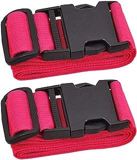 Adjustable Travel Luggage Strap, Nylon Suitcase Belt Luggage Tage Set to Keep Your Luggage Organized and Secure, 43