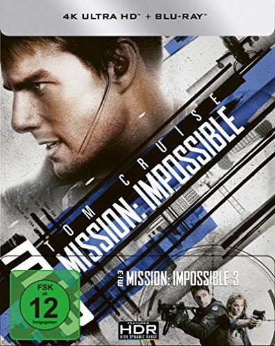 M:I:3 - Mission: Impossible 3 (4K Ultra HD) (+ Blu-ray) limitiertes Steelbook (exklusiv bei Amazon.de)