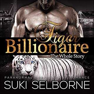 Tiger Billionaire audiobook cover art