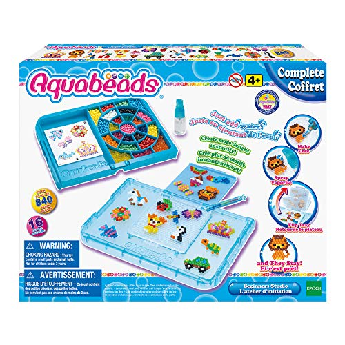 Aquabeads 32788 Beginners Studio with flip tray, Various