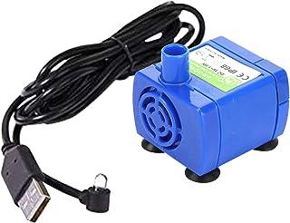 Non-brand USB Port Remplacement de la Pompe pour Chat Fontaine d'eau Fontaine pour Animaux de Compagnie Ultra Calme Longue...