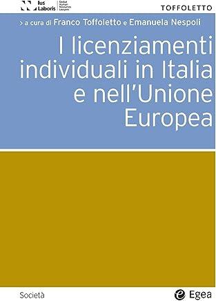 Licenziamenti individuali in Italia e nellUnione Europea (I)