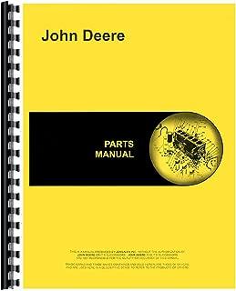Parts Manual For John Deere BW BWN BWS Disc Harrow